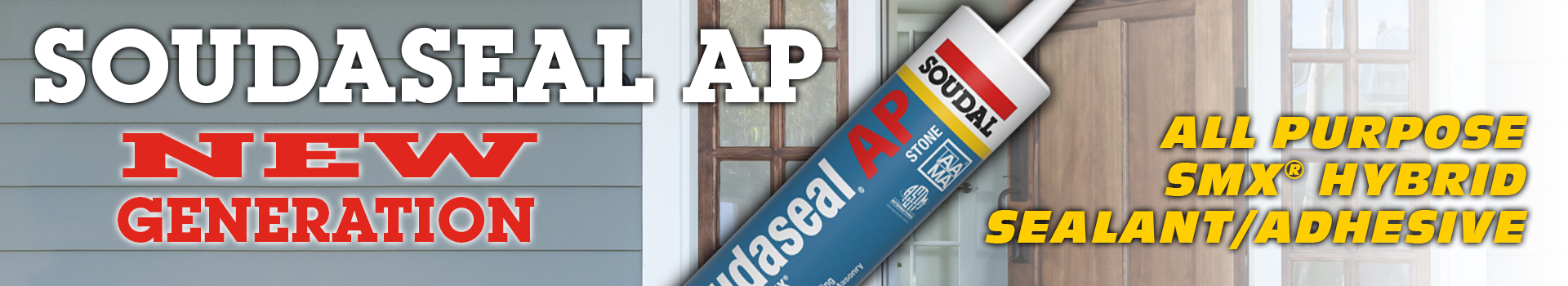 Soudalseal AP New Generation All Purpose SMX Hybrid Sealant/Adhesive